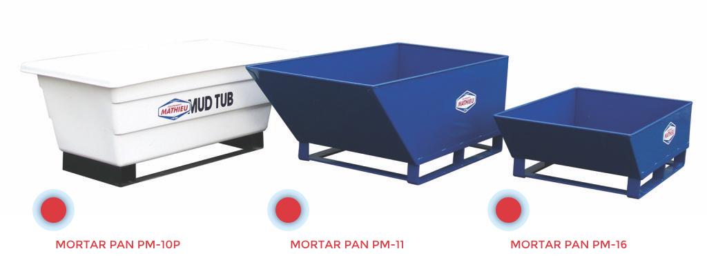 Masonry Mortar Pan : Mortar pan pm